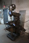 1 HP BRIDGEPORT VERTICAL MILLING MACHINE; S/N 35378