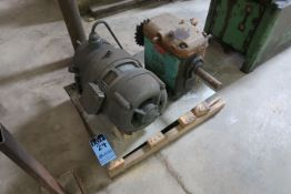 5 HP LIMA ELECTRIC MOTOR WITH DRIVE-ALL MODEL 1000 GEARED DRIVE MOTOR