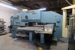 "50 TON AMADA MODEL COMA 50-60-72 CNC TURRET PUNCH; S/N C67213, 60"" THROAT, 56-STATION TURRET,"