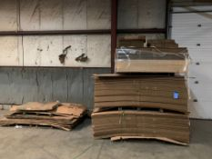 """(LOT) CARDBOARD BOXES, APPROX. 100 NEW 45"""" X 40"""" X 30"""" DEEP, (7) USED GAYLORDS AND MISCELLANEOUS"""