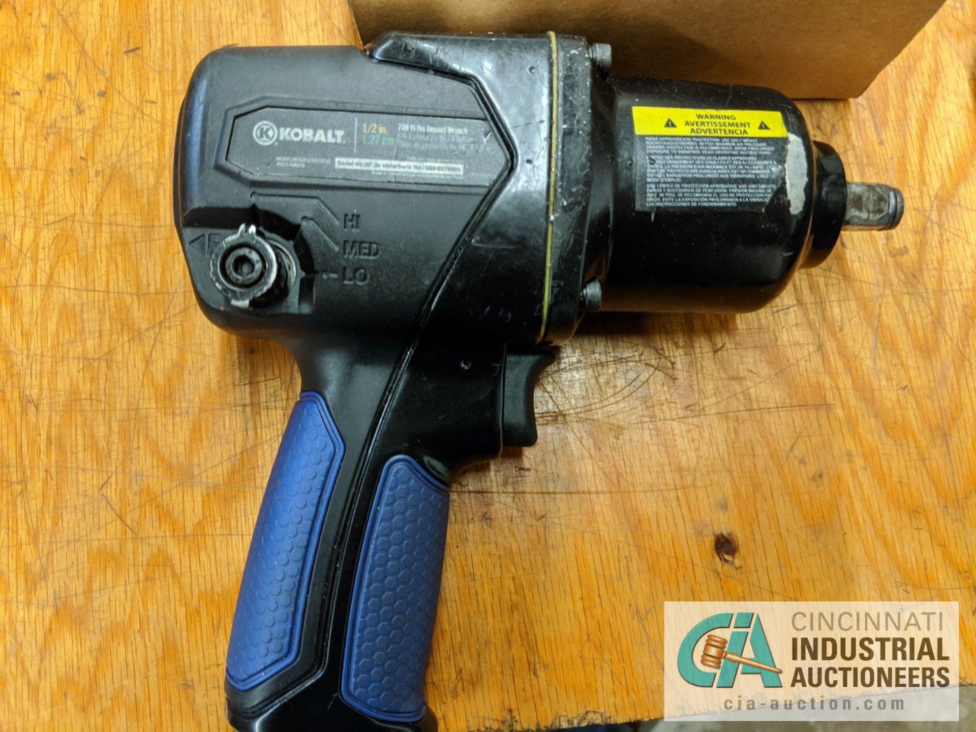 """1/2"""" DRIVE KOBALT PNEUMATIC IMPACT GUN - Image 2 of 3"""