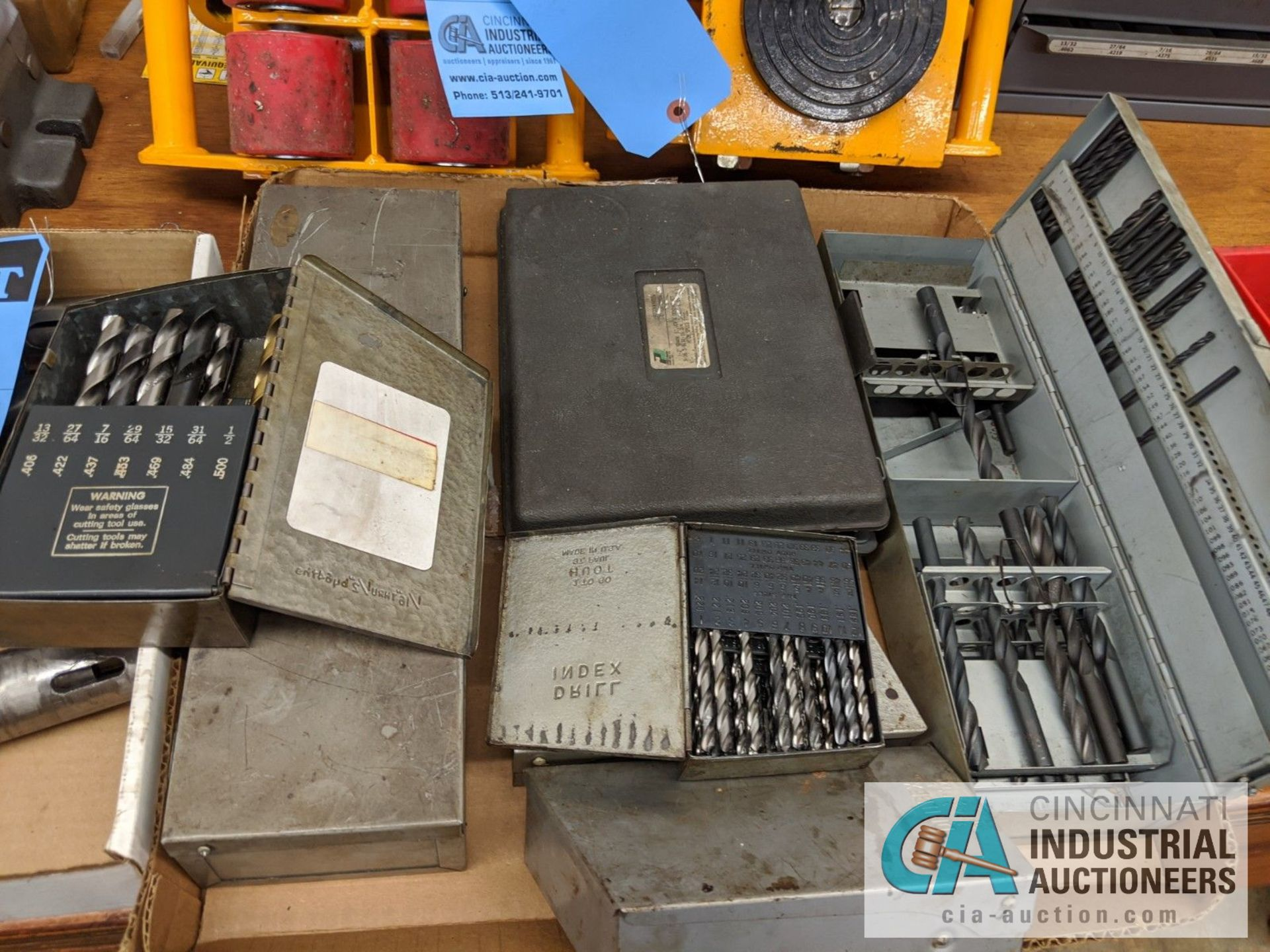 (LOT) DRILL INDEX SETS - Image 2 of 2
