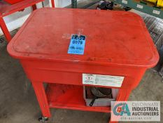 CRYSTAL CLEAN PARTS WASHER WITH ELECTRIC PUMP