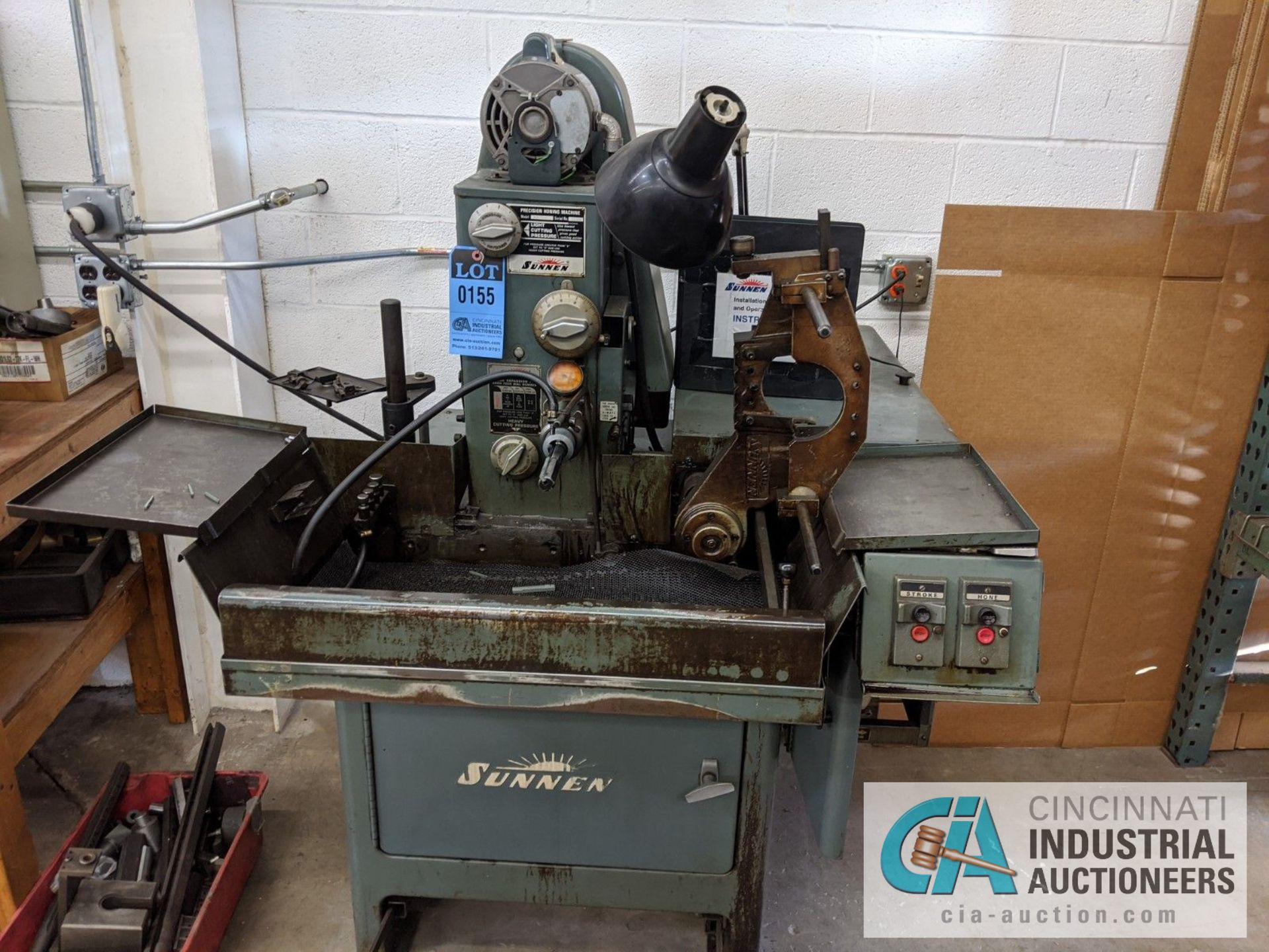 SUNNEN MODEL MBB-1690 PRECISION HONING MACHINE; S/N 84398