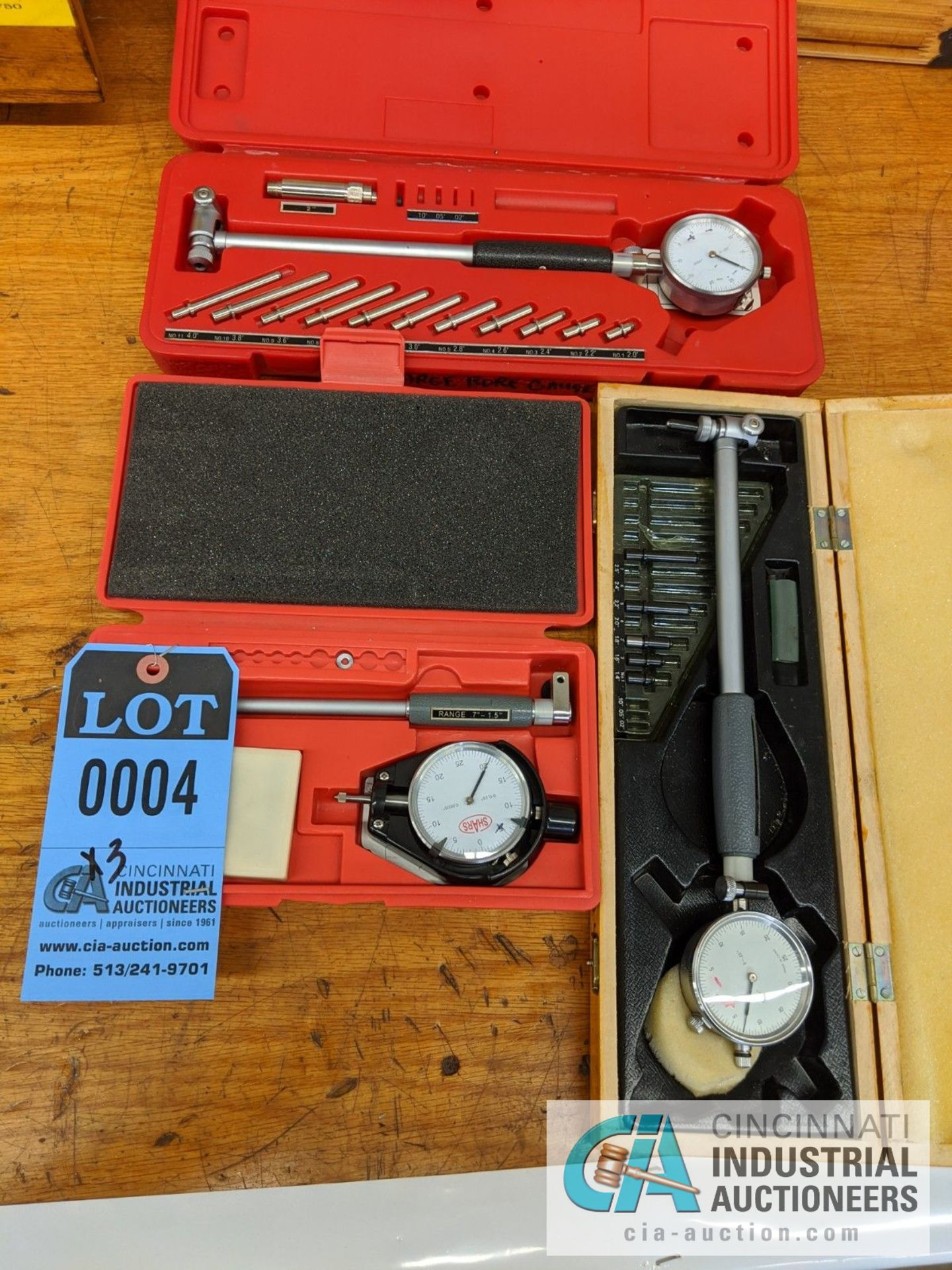 DIAL BORE GAGES BY SHARS AND CYLINDER GAUGE