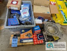 SKID OF BEARINGS BY EBC, SKF, NACHI, FAG AND BL