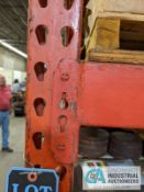 """SECTIONS 42"""" / 36"""" X 96"""" X 10' PALLET RACK"""
