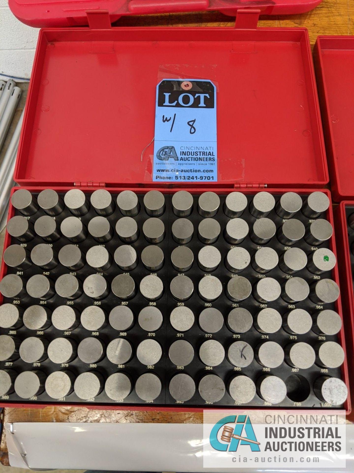 PIN GAGE INDEX .750 TO 1.000 - Image 3 of 4