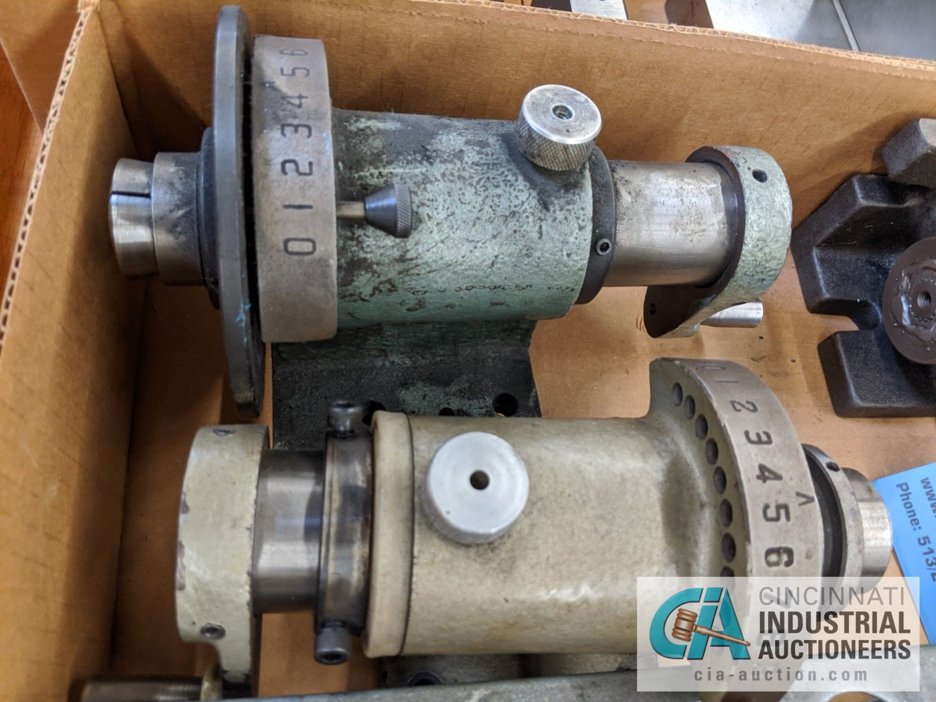 (LOT) ASSORTED 5C TOOLING; COLLETS AND SPIN FIXTURES - Image 2 of 5
