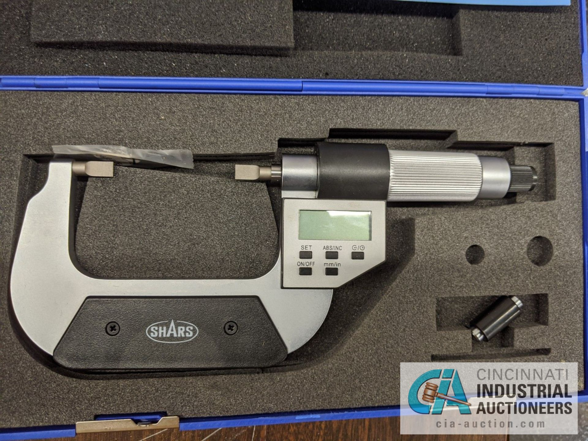 """SHARS DIGITAL OD MICROMETERS, 0-1"""" AND 1-2"""" - Image 2 of 3"""