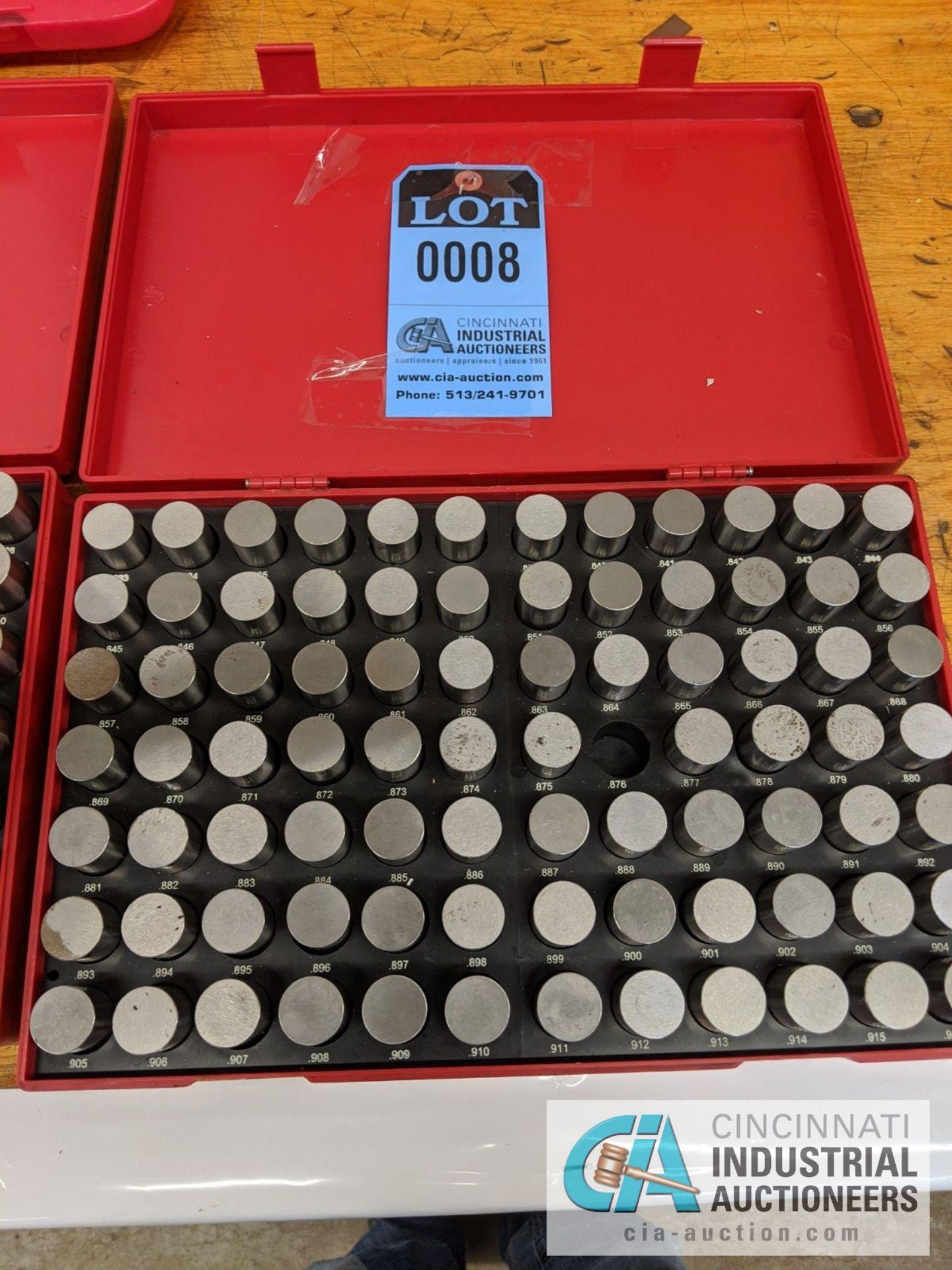 PIN GAGE INDEX .750 TO 1.000 - Image 2 of 4