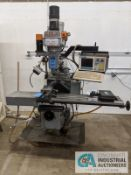 "3 HP CLEVELAND MODEL CNC VERTICAL MILL, 13"" X 50"" TABLE, CENTROID MODEL M15-5 3-AXIS CONTROLLERS,"