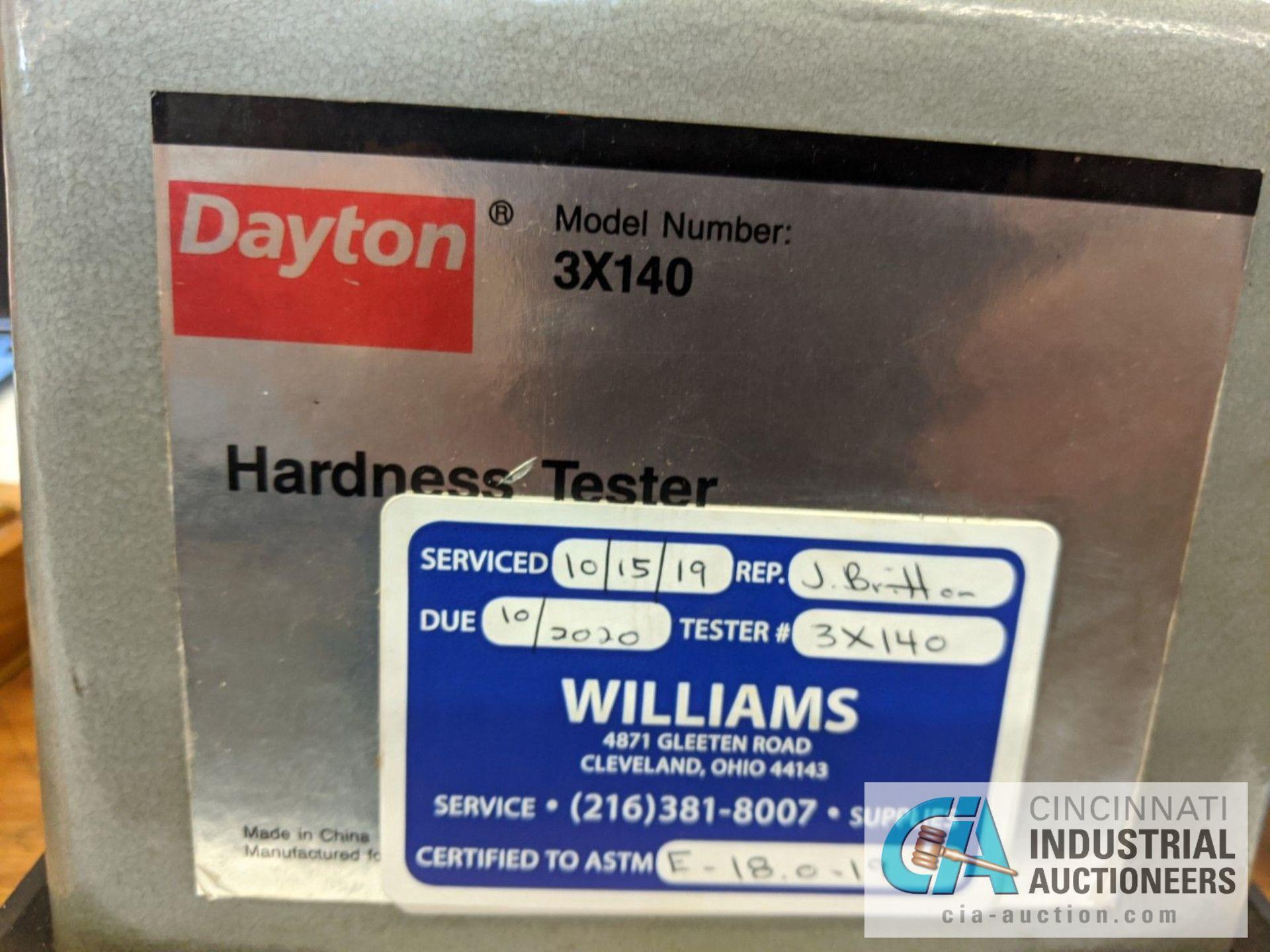 DAYTON MODEL 3X140 HARDNESS TESTER - Image 4 of 7