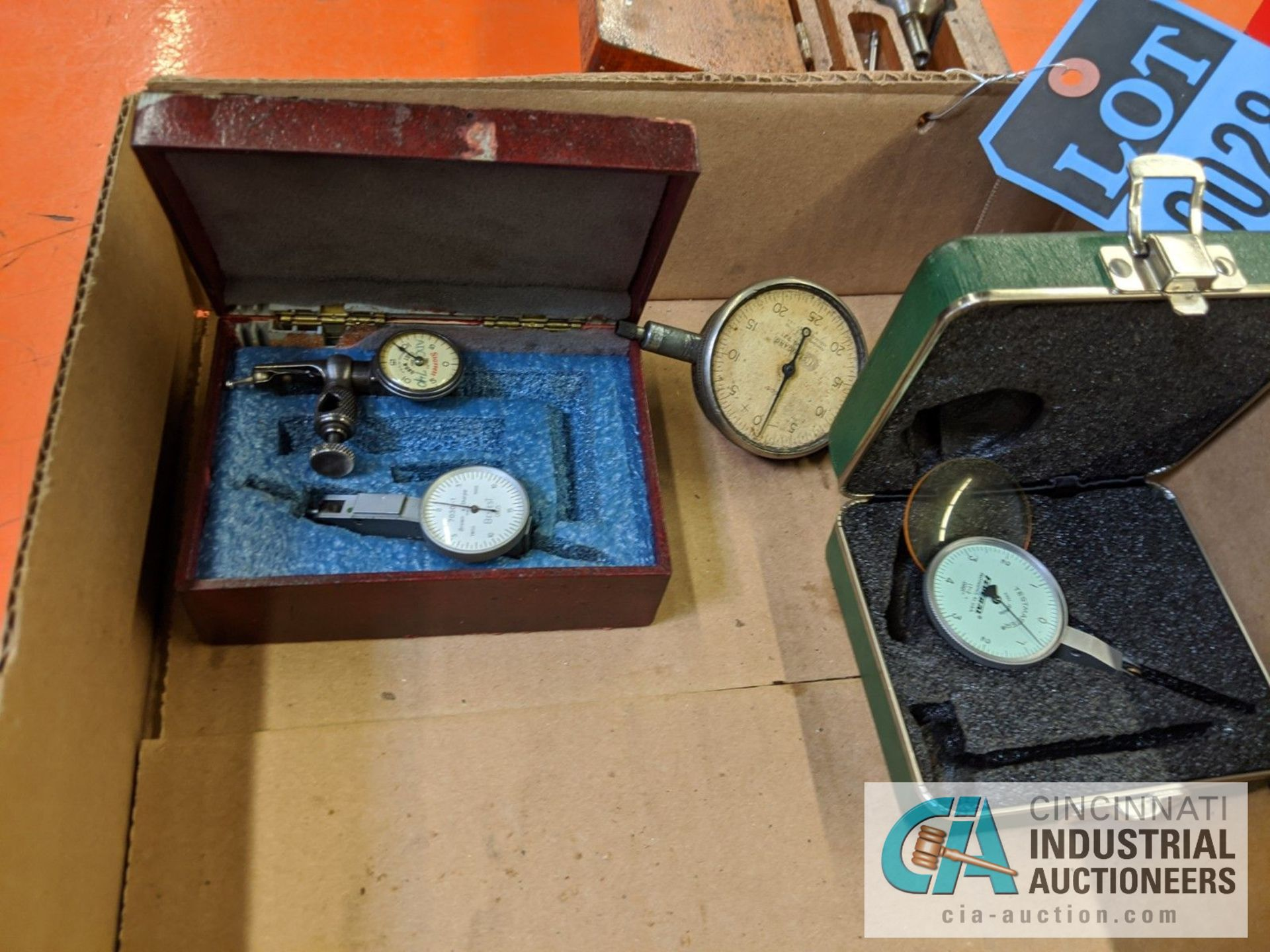 (LOT) ASSORTED DIAL INDICATORS - Image 5 of 7