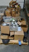 SKIDS MISCELLANEOUS STEEL PARTS, GEAR REDUCERS HOUSINGS, ETC.