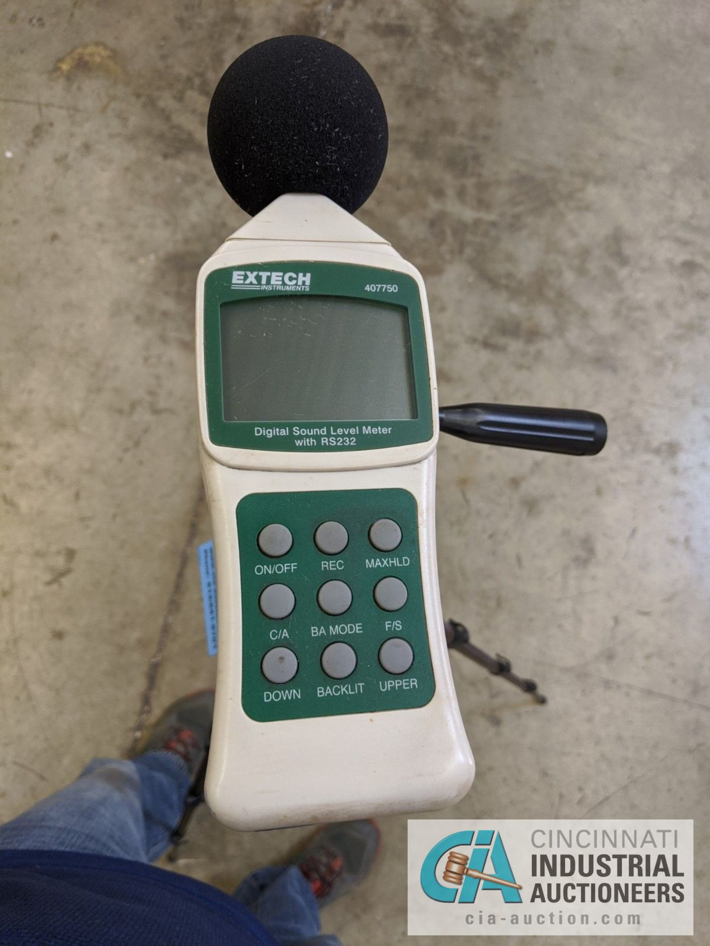 EXTECH DIGITAL SOUND LEVEL METER WITH RS232 - Image 2 of 2