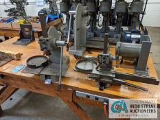 (LOT) HD BENCH WITH (3) SPECIAL ASSEMBLY ARBOR PRESSES, (2) 1/3 HP ELECTRIC MOTORS AND ANGLE