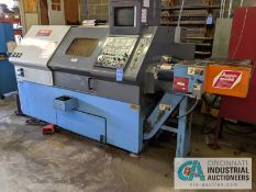 "MAZAK MODEL QT-20 GP-UNIL CNC TURNING CENTER; S/N 132160, 10"" 3-JAW CHUCK, TAILSTOCK, 17.32"""