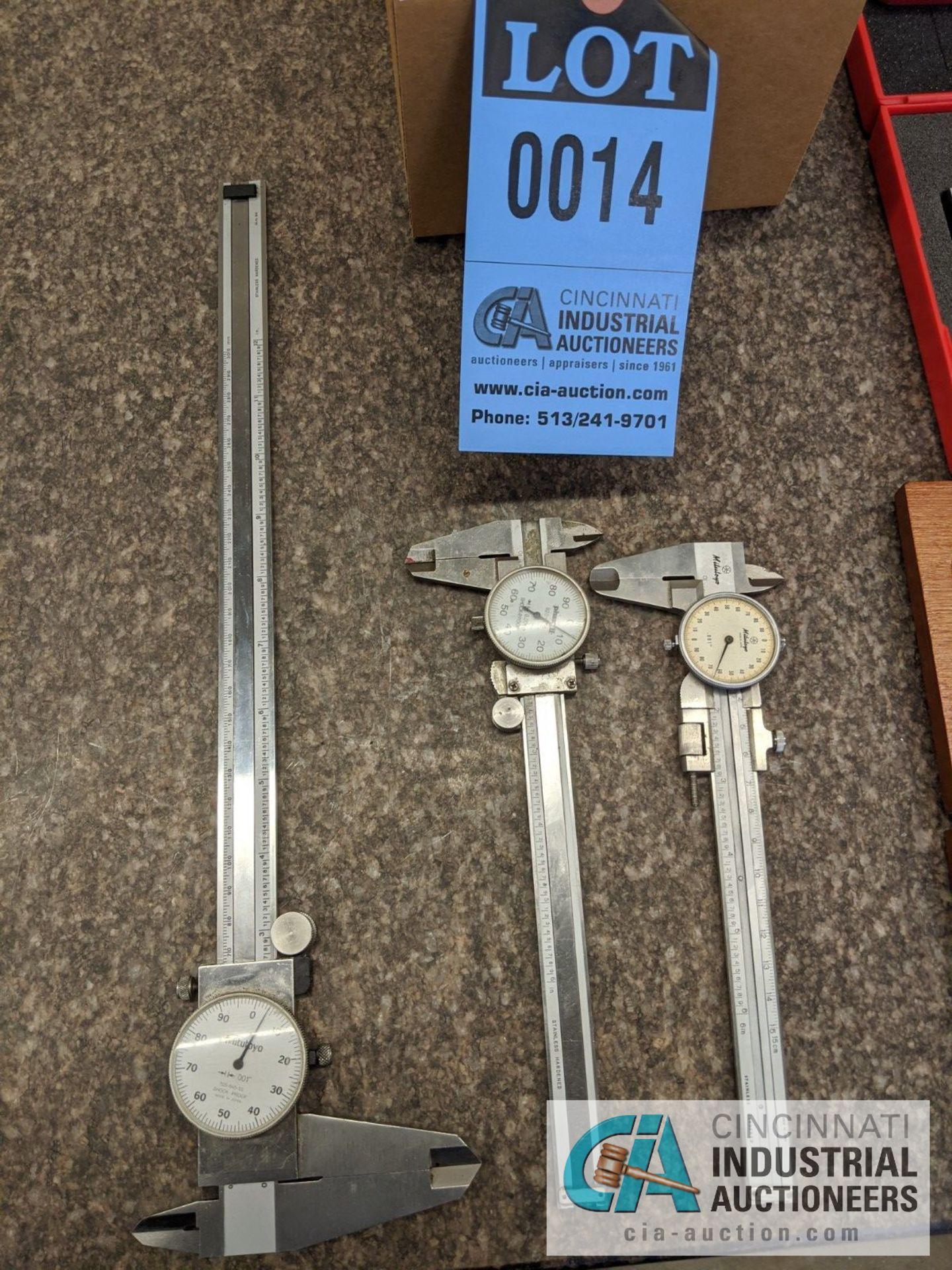 DIAL TYPE CALIPERS - Image 2 of 4