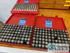 PIN GAGE INDEX .750 TO 1.000