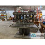 """24"""" ALLEN 6-SPINDLE PRODUCTION DRILL, 21"""" X 66"""" TABLE"""