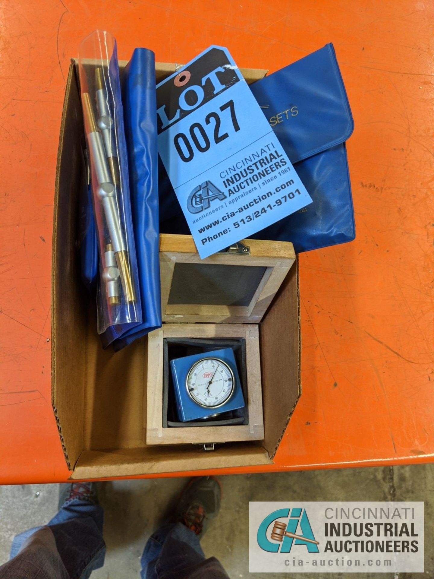 (LOT) INSPECTION; T-HANDLE MICROMETERS, PARALLEL SET AND Z-AXIAL PRESET GAUGE