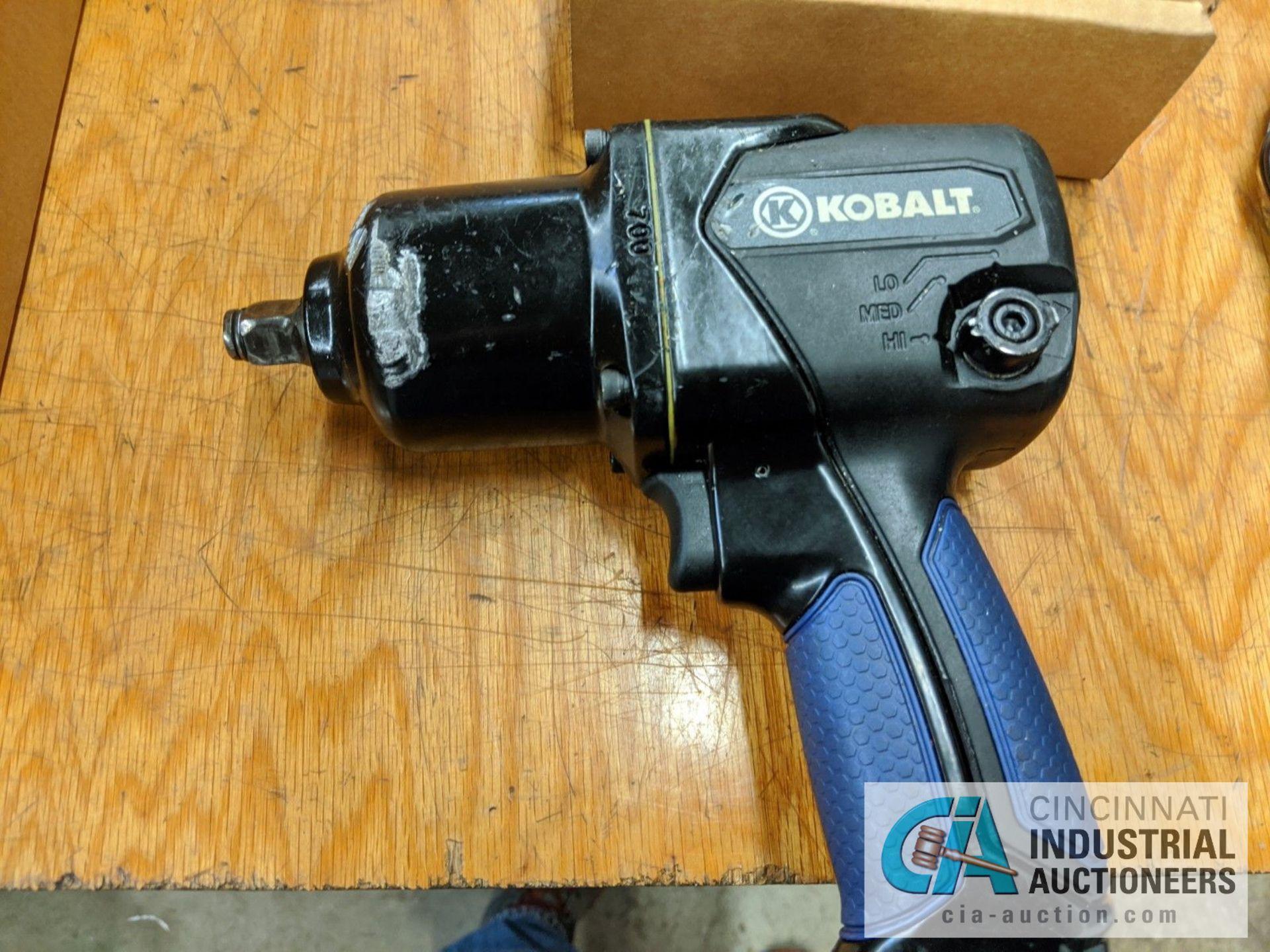 """1/2"""" DRIVE KOBALT PNEUMATIC IMPACT GUN - Image 3 of 3"""