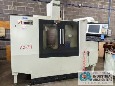 "ATRUMP MODEL A2-7H CNC VERTICAL MACHNING CENTER; S/N A2NC170019, 7.5 KW, 10"" X 54"" TABLE, X-TRAVEL"