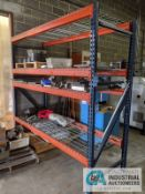 """SECTION 36"""" X 96"""" X 96"""" PALLET RACK WITH DECKING"""