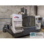 "HAAS MODEL VF4SS CNC VERTICAL MACHINING CENTER; S/N 1106174, 20"" X 52"" TABLE, X-TRAVEL 50"", Y-TRAVEL"