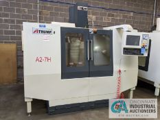 "ATRUMP MODEL A2-7H CNC VERTRICAL MACHINING CENTER; S/N A2NC160027, 5.5 KW, 10"" X 54"" TABLE, X-TRAVEL"