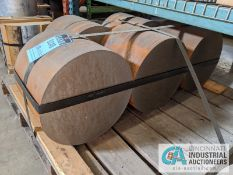 "STEEL BLANKS / BARS; 15"" DIAMETER X 12"" THICK"