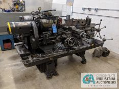 "WARNER SWASEY NO. 3 / MODEL 1200 TURRET LATHE; S/N 1352848, 8"" 3-JAW CHUCK, 6-POS.TURRET"