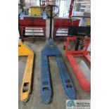 """6,600 LB. CAPACITY HAND HYDRAULIC PALLET TRUCK, 48"""" FORKS"""