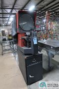 "16"" DIAMETER STARRETT SIGMA HB-4000 BENCH MOUNTED OPTICAL COMPARATOR; S/N 4401, WITH QUADRA-CHEK"