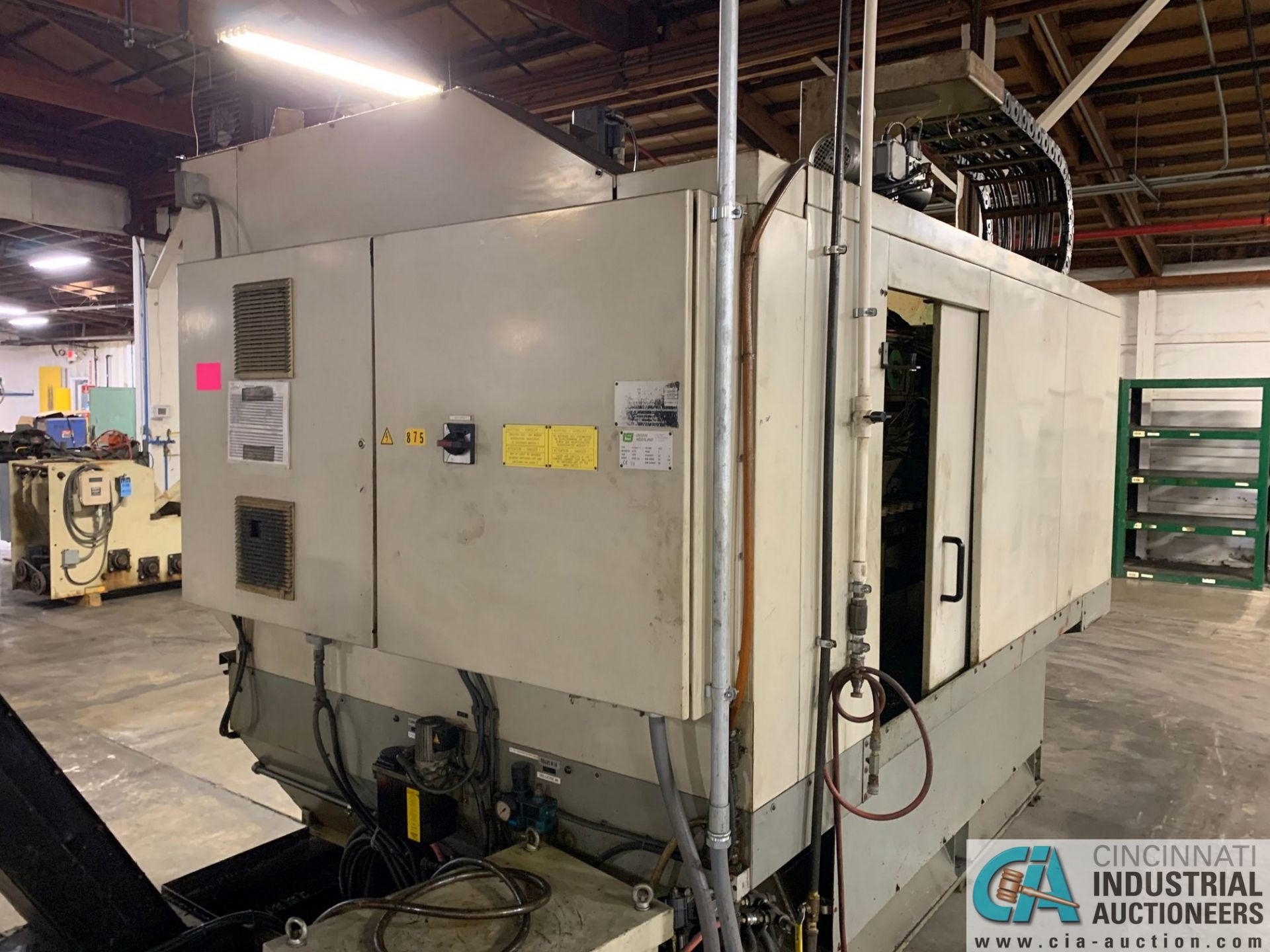 MONARCH UNISIGN TYPE UNIVERS 4 ZONALL 4 CNC VERTICAL MACHINING CENTER; S/N 99Z403, NO. 4293, - Image 7 of 13