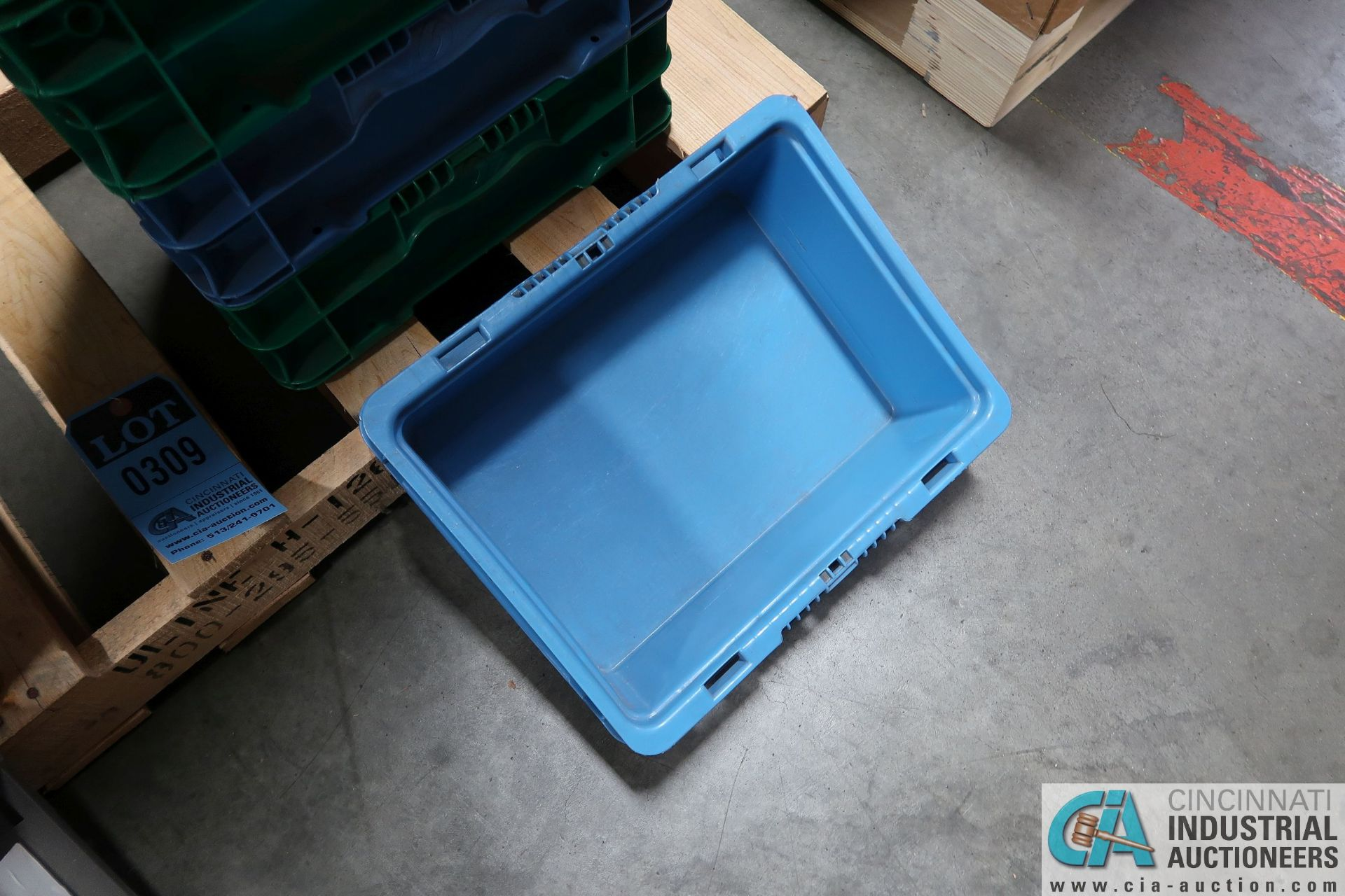 "STACKABLE STRAIGHT WALL TRAYS, (10) 10"" X 13"" X 7-1/2"" DEEP BUCKHORN STACKABLE STRAIGHT WALL TRAYS - Image 3 of 3"