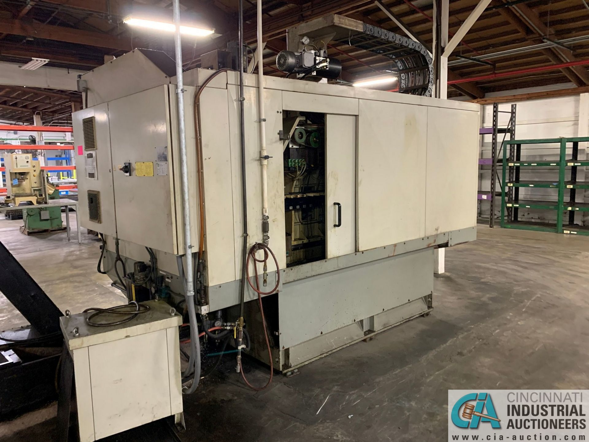 MONARCH UNISIGN TYPE UNIVERS 4 ZONALL 4 CNC VERTICAL MACHINING CENTER; S/N 99Z403, NO. 4293, - Image 6 of 13