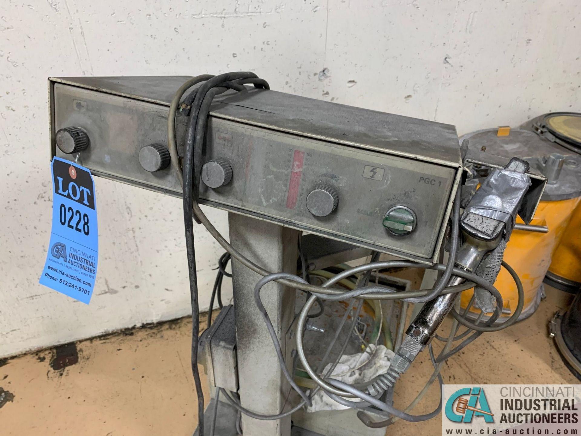 GEMA TYPE PGC-1 HAND POWDER COAT GUN; S/N 810413618 - Image 2 of 5