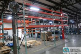 """Sections 48"""" x 96"""" x 10' High Pallet Rack; (3) Uprights, (12) 4"""" x 8' Beams, (8) Wire Decks"""