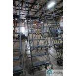 EIGHT STEP BALLYMORE PORTABLE WAREHOUSE LADDER
