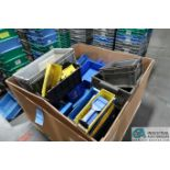 (LOT) MISCELLANEOUS HANGING BINS AND TRAYS