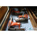 (LOT) (4) PNEUMATIC STAPLE GUNS