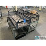 "66"" X 24"" X 12"" DEEP STEEL BASKETS WITH CARTS"