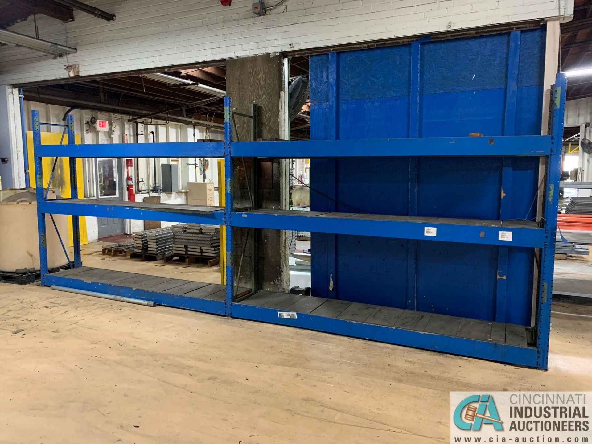 SECTIONS 2' X 8' WIDE ADJSUTABLE PALLET RACK
