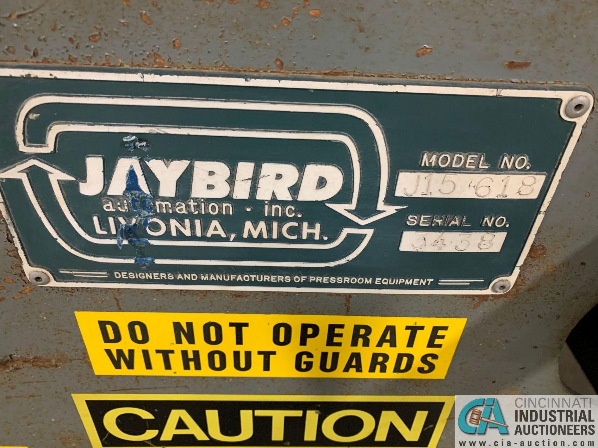"6"" JAYBIRD MODEL J15618 AIR FEED - Image 2 of 6"