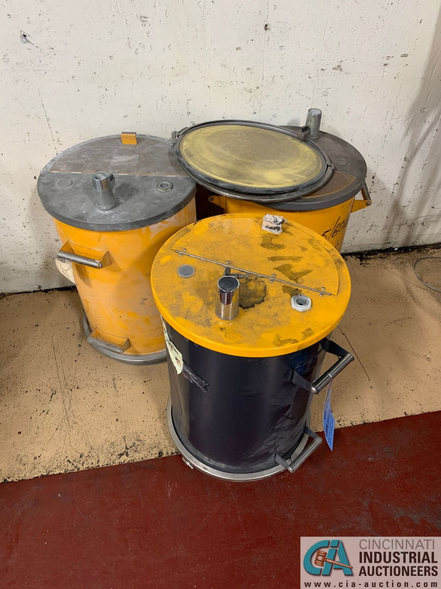 POWDER COAT DRUMS