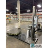 """LIBERTY INDUSTRIES MODEL 4.1 SERIES ROTARY PALLET STRETCH WRAPPER; S/N N/A, 48"""" X 48"""" PLATFORM, 6'"""