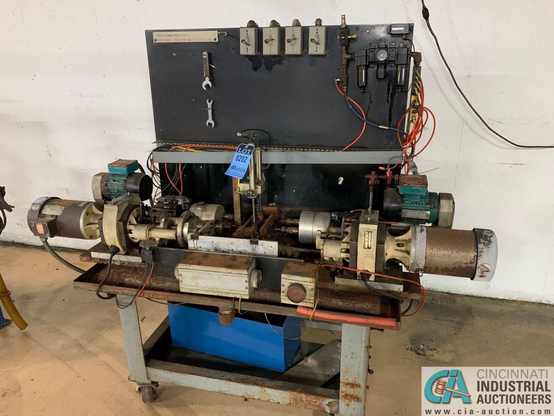 8-SPINDLE HORIZONTAL DRILLING MACHINE