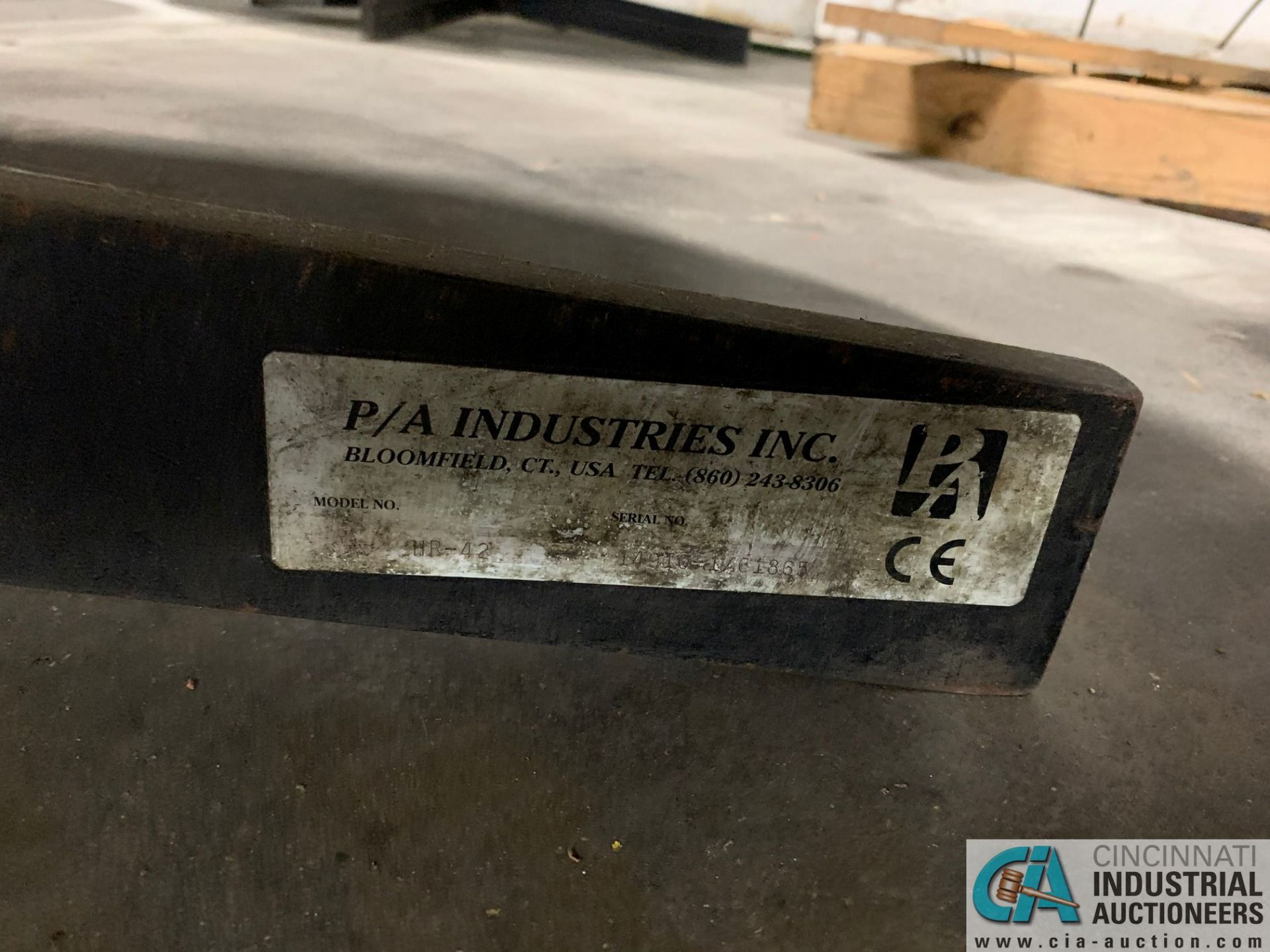 PA INDUSTRIES HORIZONTAL PAYOFF REELS - Image 2 of 2